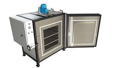 Průmyslové pece SNOL do 450 °C