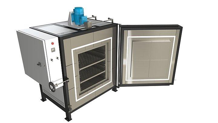 Průmyslová pec SNOL do 450 °C