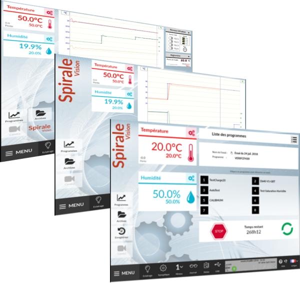 Klimatická komora Climats Excal2 s jednoduchým softwarem