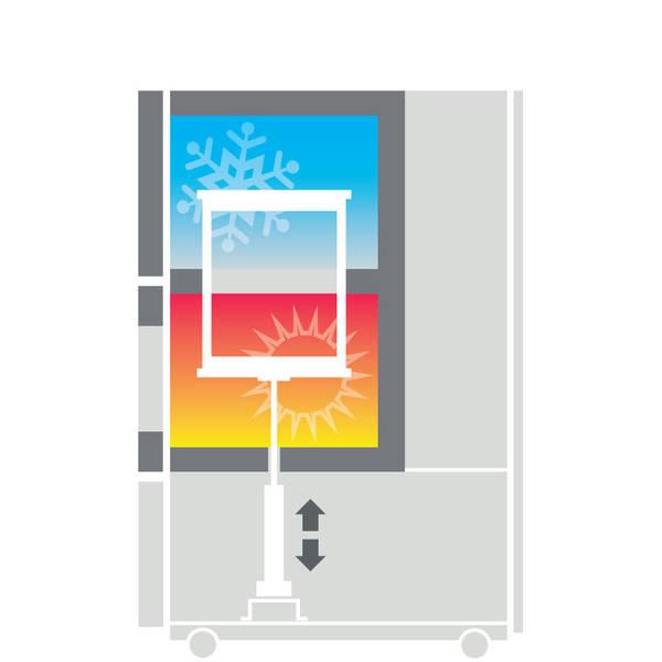 Climats SCAL ve vertikálním provedení